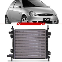 Radiador Ford Ka 1.0 1.6 Rocam 00 Até 08 C/ Ar