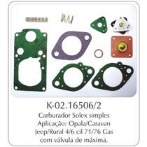Kit Carburador Ford Willys F-75/jeep/rural/f-100/maverick 75