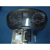 Modulo Kit Completo Fox 1.0 2014 Ag030906020c Air Bag Abs! !