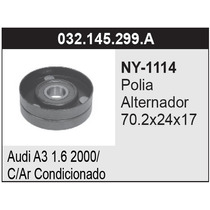 Polia Alternador Vw Gol/parati 1.0 Mi 16v - 70mm