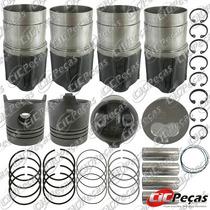 Kit Motor Trafic Diesel ( Anel + Camisa + Pistão)