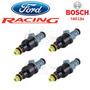 Bico Injetor Bosch Ford Racing 160lbs Original, Cabeça Azul