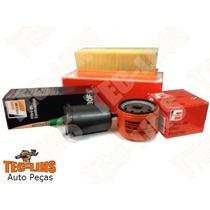 Kit De Filtros Ar Oleo Combustivel 206 1.0 16v