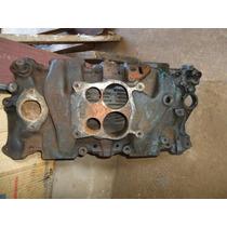 Coletor Admiçao Carburador Quadrijet Chevrolet Motor V8