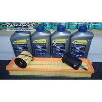 Óleo 10w40 100% Sintético + Kit Filtros Peugeot 307 1.6 / C4