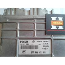 Módulo Injeção Gol 1.0 8v - 377906021fh - 0261206118 - Bosch