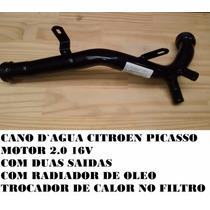 Cano Tubo Dagua Citroen Picasso 2.0 16v Duas Saidas 1341.e1