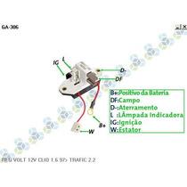 Regulador Voltagem Renault R19 Rn 1.6i - Gauss