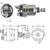 Automático De Partida - Solenóide Motor De Arranque Corcel