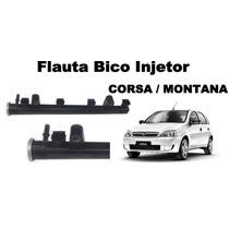 Flauta Bico Injetor Gm Montana Corsa 1.8 Gasolina