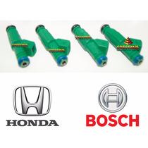 Kit 4 Bico Injetor Honda Crv 0280157147 Bosch Original Novos