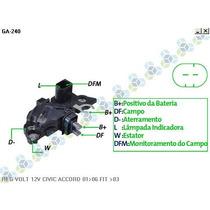 Regulador Voltagem Honda Fit .../03 - Gauss