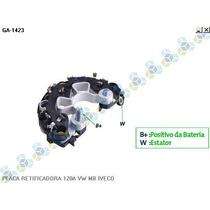 Placa Retificadora 120a Vw Caminhao 8150 - Gauss