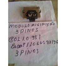 Modulo Ignição Eletr 3 Pino Gol 1.0 95/escort Logus 93/96