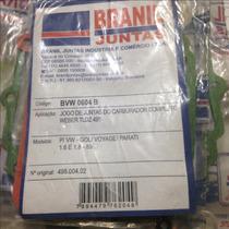 Jogo Junta Carburador Weber Tldz 495 Gol/voy/parati 1.6 1.8