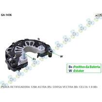 Placa Retificadora 120a Gm Astra 2.0 05/... - Gauss