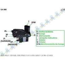 Regulador Voltagem Vw Polo 1.0 1.6 03/... - Gauss