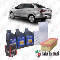 Selenia Performer 15w40 E Filtros Fiat Grand Siena 1.4 Evo