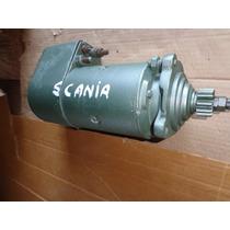 Motor De Arranque 24 Volts Para Scania 111 S-usado Bom
