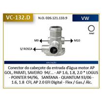 Conector Do Cabeçote Da Entrada De Água Motor Ap , Gol , Par