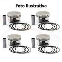 Pistão C/anel 100mm Ford Fiesta Ka Rocam 1.0 Frete Gratis