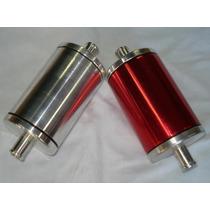 Filtro De Combustível Esportivo Alumínio Lavável Universal