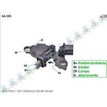 Regulador Voltagem Toyota Corolla - Gauss