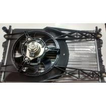Radiador+defletor+ Motor Da Ventoinha Do Fiesta 2003/sem Ar