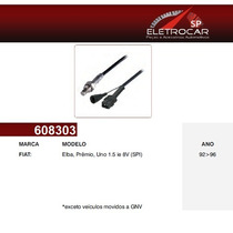 Sonda Lambda Fiat Elba, Prêmio, Uno 1.5 Ie 8v Spi 92 À 96 (s