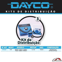 Kit Distribuição Tensor + Correia Fiat Brava, Doblo, Marea 1