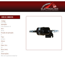 Filtro De Combustível Fiat Palio Weekend 1.0 98 À 00