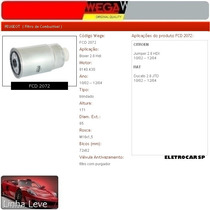 Filtro De Combustível - Boxer 2.8 Hdi 10/02 A 04