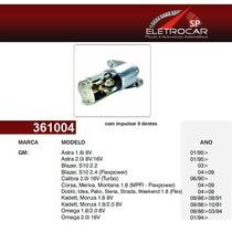Motor De Partida Gm Chevrolet Kadett, Monza 1.8, 1.8, 2.0 8v