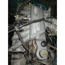 Motor Ford F1000 4.9 Falcon Injetado Completo E Funcionando