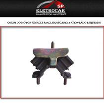 Coxim Do Motor Renault R19,clio,megane 1.6 Até 99 Lado Esque
