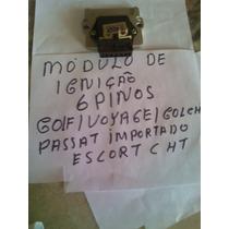 Modulo Ignição Eletr 6 Pinos Vw Gol Cht/ Escort Cht / Golf