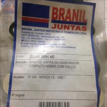Jogo Junta Carburador Weber C Calco Monza 1.6 1982...