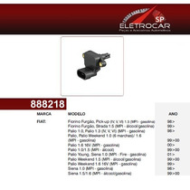 Sensor Map Fiat Palio, Weekend, Young, Siena, Strada 1.0, 1.