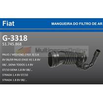 G3318 Mangueira Filtro Ar Fiat Palio/ Weekend/ Siena/ Strada