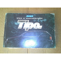 Manual Do Proprietário Fiat Tipo 1.6 2.0 Original
