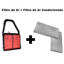 Filtro Ar + Filtro Ar Condicionado Civic 1.7 16v 2001/2005