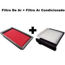 Filtro Ar + Filtro Ar Condicionado Tiida 1.8 16v 2008 / 2013