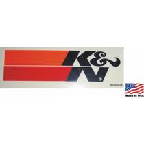 Adesivo K&n Kn Ken Filters Original Americano Importado R1