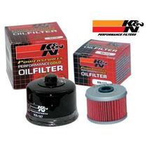Filtro De Óleo Original K&n Kn Ken Buell Xb9 Xb12 1000 1200
