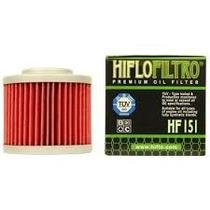Filtro De Oleo Hiflo Filtro Hf151 Moto Bmw F650gs,bombardier