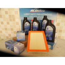 Kit Troca De Óleo Gm 5w30 Dexos 1 + Filtros Cobalt/spin