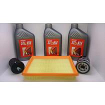 Óleo Selenia K 15w40 + Filtros Fiat Palio, Doblo Motor Fire