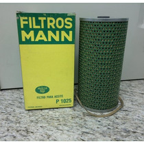 Filtro Óleo Mann P1025 Gm C60,655 Motor Gm 6c-gasolina