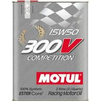 Óleo Motul 300v Competition 15w50 2l - 100% Sintético