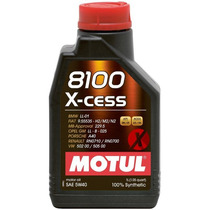 Óleo Motul 8100 X-cess 5w40 100% Sintético 1 Litro
